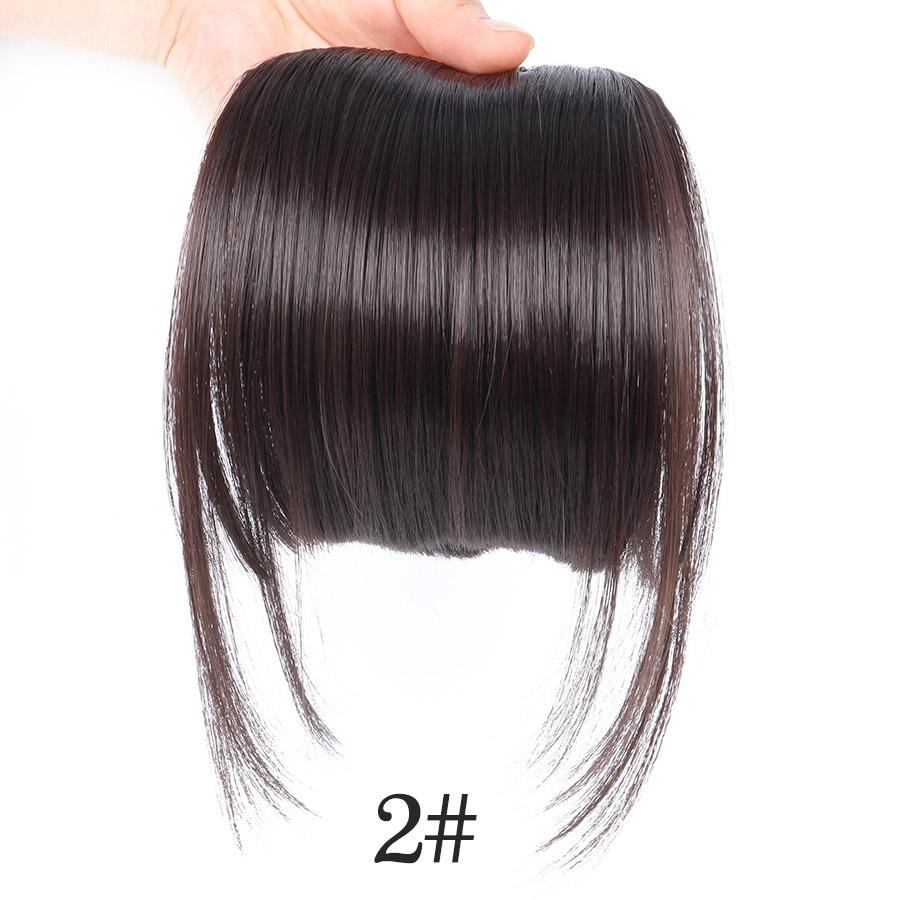 3D Clip-In Bangs Hair Extensions - Redbovi.com