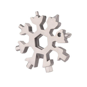 Flocon de Neige Multi-outil 18-in-1 - Redbovi.com