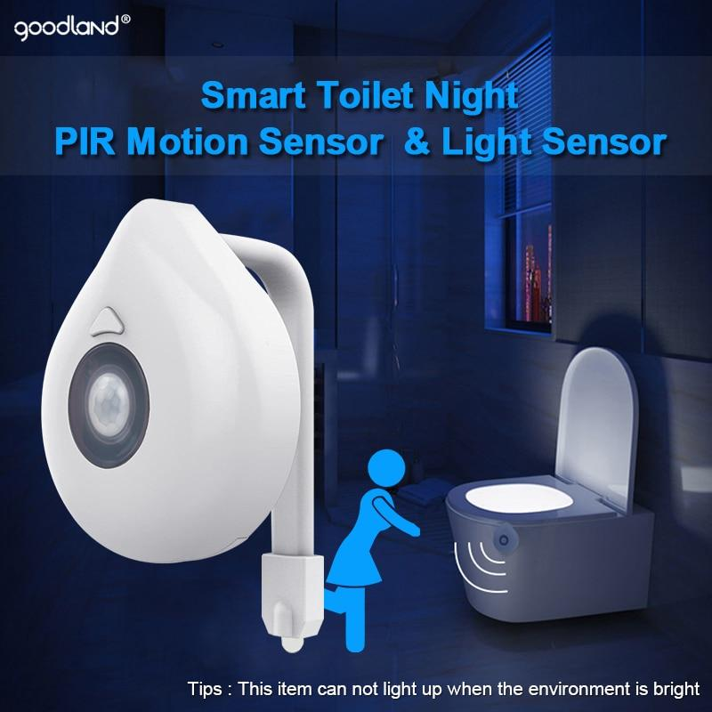 Motion Sensor Toilet Nightlight