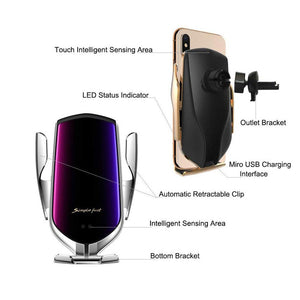 Wireless Charger For iPhone 11 XS XR Samsung S10 S9 - Redbovi.com