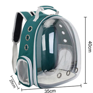 Cat Dog Astronaut Capsule Backpack