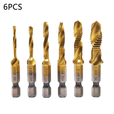 Thread Tap Drill Bit Set