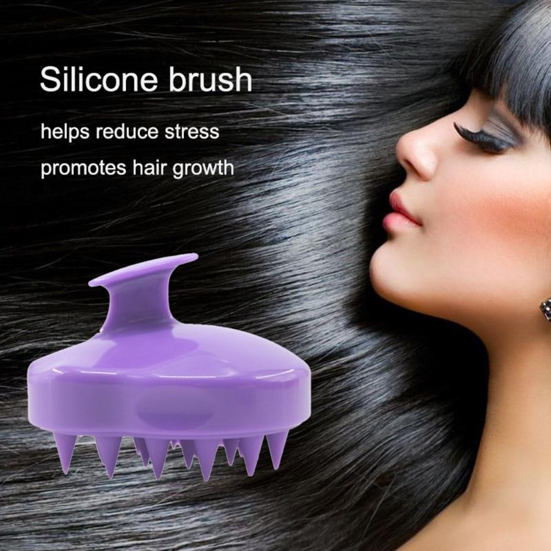 Silicone Hair Scalp Massager Brush - Redbovi.com