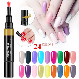 3 In 1 Gel Nail Polish Pen - Redbovi.com