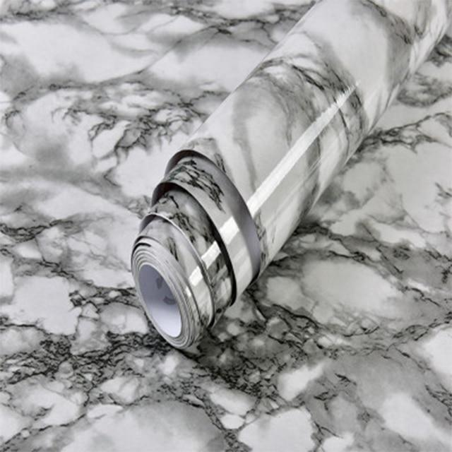 MODERN WATERPROOF MARBLE WALLPAPER - Redbovi.com