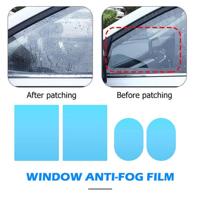 Car Side Rearview Mirror Waterproof Anti-Fog Film