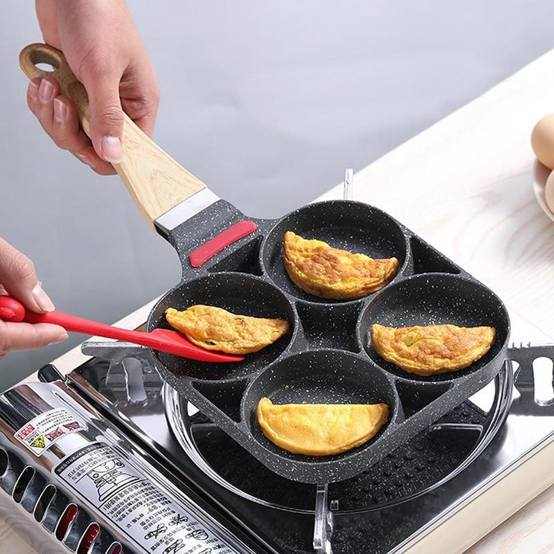 4-HOLE FRIED EGG BURGER PAN - Redbovi.com