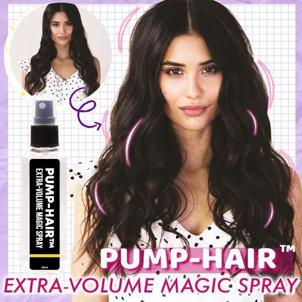 PUMP-HAIR™ Extra-Volume Magic Spray Hair Voluming Spray Fluffy Hair Styling Gel - Redbovi.com