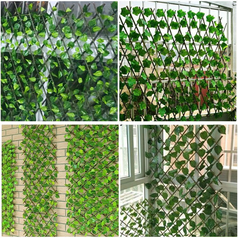 Expandable Faux Ivy Privacy Fence - Redbovi.com