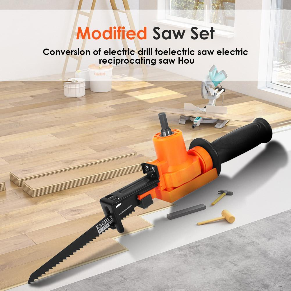 6-PIECE ELECTRIC DRILL RECIPROCATING SAW SET - Redbovi.com