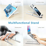 Adjustable Foldable Laptop Stand - Redbovi.com