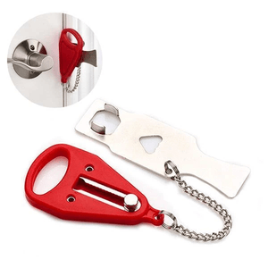 PORTABLE SAFETY DOOR LOCK - Redbovi.com