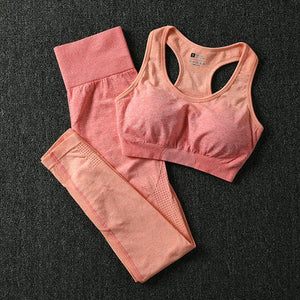 Yoga Set Gym Leggings & Sports Bra Gym Sets - BHsportswear.com