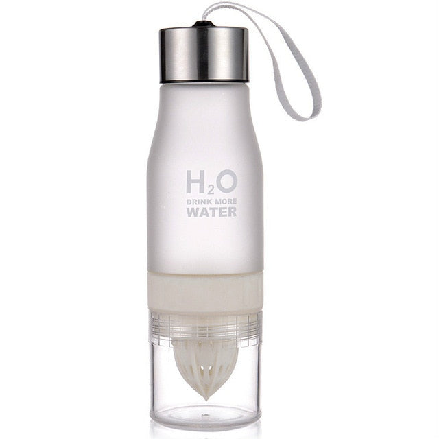 Xmas 650ml Infuser Water Bottle plastic Fruit infusion - BHsportswear.com