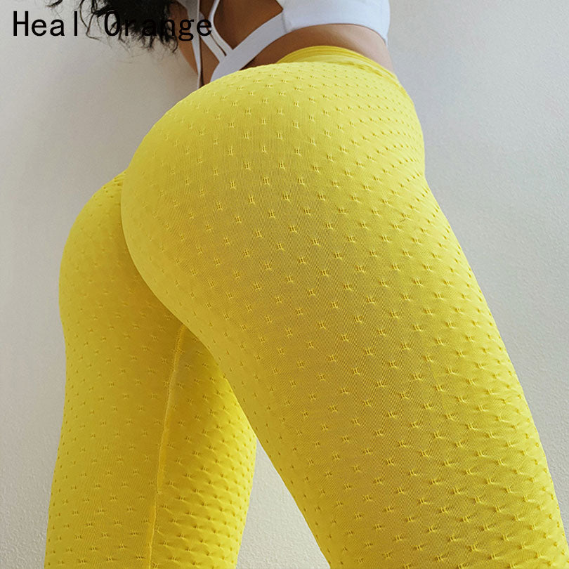Heal Orange Sexy Push Up Pantalon Yoga Pants Women Leggings For Girls Sport Women Fitness Leggings Women'S Sports Pants Kleding - BHsportswear.com