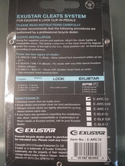 Exustar Cleat System E-ARC10