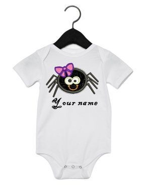 Cute girl spider onesie