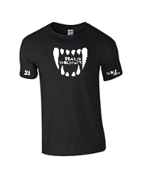 Wolf-Fangs t-shirt with sleeve print