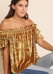 Gold Rush Top
