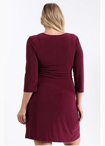 Wrap it Up Dress - PLUS