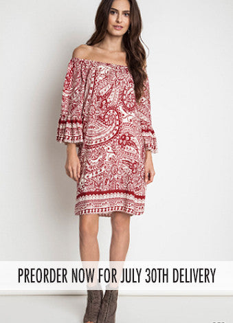 Crimson & Clover Dress