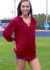 Bordeaux Beauty Tunic