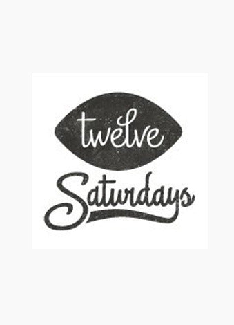 Twelve Saturdays Gift Certificate