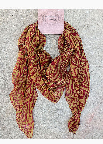 Great Catch Ikat Scarf