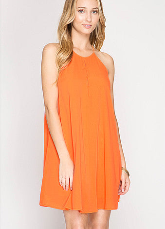 Orange You Excited Dress