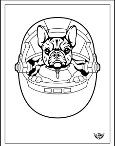 """The Puppy"" coloring page digital download"