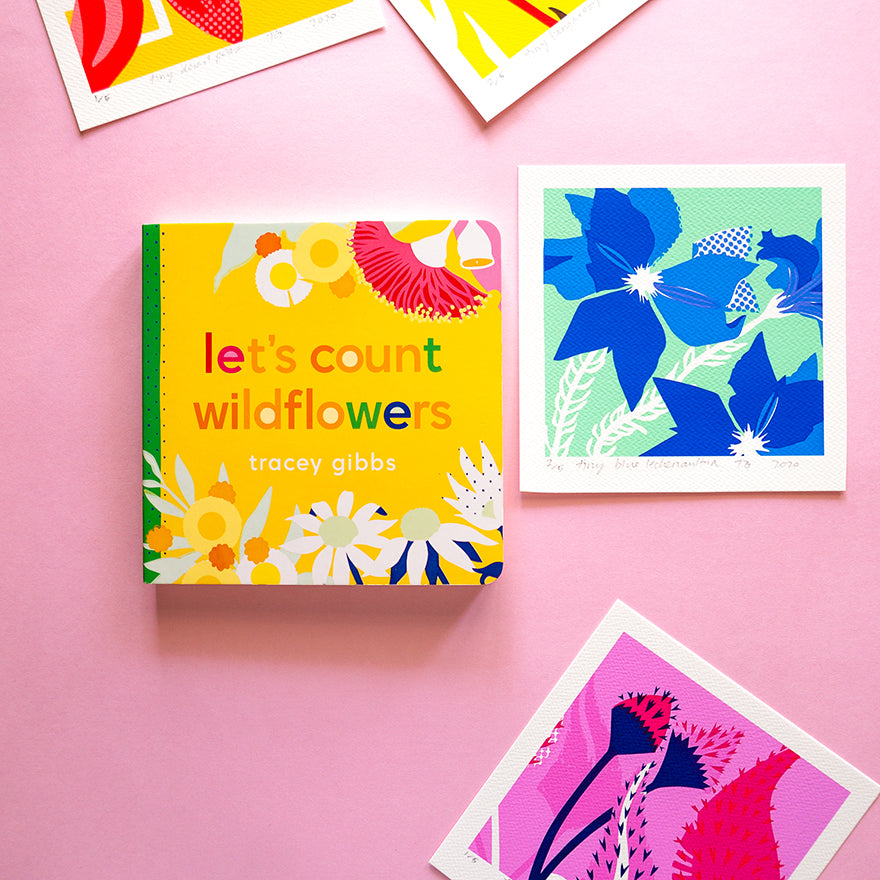 lets count wildflowers book cover
