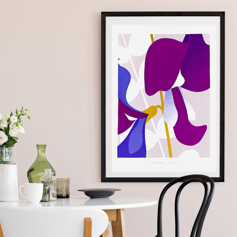 Bladder Vetch - giclée print