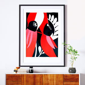 Sturt's Desert Pea - original - edn. of 8