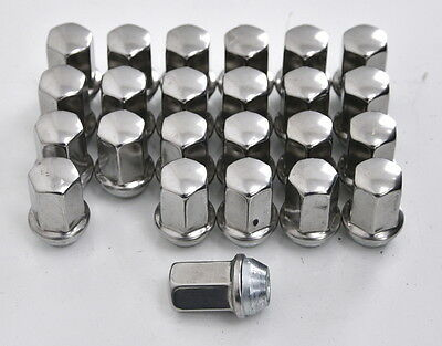 OEM Style Chrome GM 22mm Hex Lug Nuts