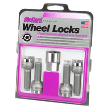 Load image into Gallery viewer, McGard 28018. Chrome Bolt Style Radius Seat Lock Bolt Set (M14 x 1.5 Thread Size
