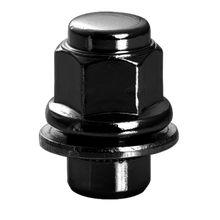 Load image into Gallery viewer, OEM Style Nissan/Infiniti Black Lug Nuts. 21mm Hex