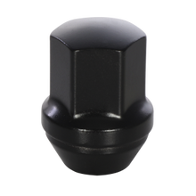 Load image into Gallery viewer, OEM STYLE DODGE BLACK NUTS. 22mm Hex. Car Applications