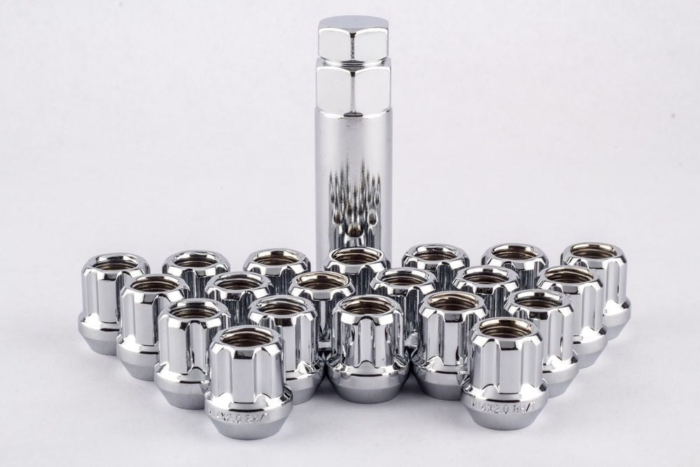 Open Chrome Tuner Lugnuts with Key