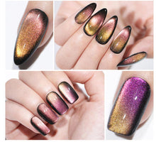 Load image into Gallery viewer, Chameleon Magnetic  9D Cat Eye Gel Polish
