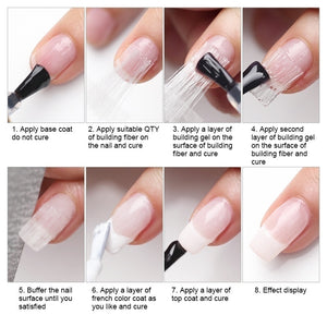 Fiber Nail Silk for UV Gels (Must-Have)