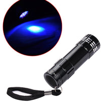 Load image into Gallery viewer, Mini 12W Flashlight Nail Fast Cure for Prime  Makeup Small Grill 30 Seconds Dryer led