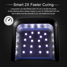 Load image into Gallery viewer, NEW UV Lamp Painless Nail Dryer 48W LED Lamp Nail with Smart Timer Memory Digital Timer Display Nail Drying Machine