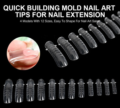 120 Pcs Quick Building Mold Nail Tips  A105
