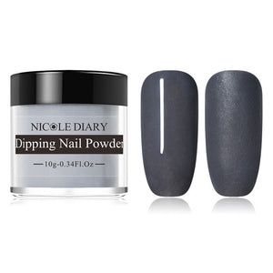 Tiktok Dipping Nail Powder Natural Dry Chrome Dust Pigment A113