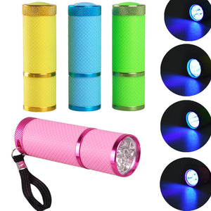 Mini UV Flashlight Nail Lamp