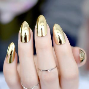 Revolutionary Gold Mirror Nail Art Tips