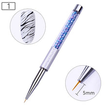 Load image into Gallery viewer, UV Gel Brush Liner Painting Pen Acrylic Drawing Brush for Nails