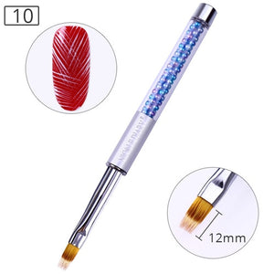 UV Gel Brush Liner Painting Pen Acrylic Drawing Brush for Nails