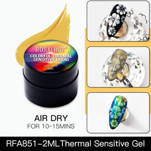 Thermal Sensitive Gel Polish Hybrid Varnish For Nails