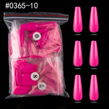 Load image into Gallery viewer, Stiletto Coffin Fake Nails 500pcs/bag Press On Nail Full Cover/Half Cover False